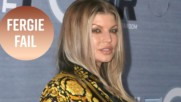 Fergie is apologizing after that NBA anthem fail