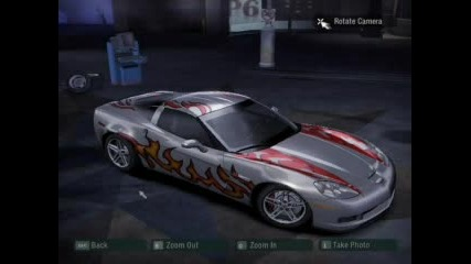 My Cars In Nfs Carbon 2