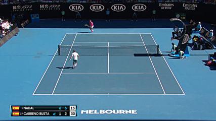 Rafael Nadal vs Pablo Carreno Busta - Extended Highlights R3 Australian Open 2020