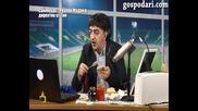 Алекси Сукалчев коментира Лудогорец - Реал Мадрид, ден преди мача. Господари на ефира
