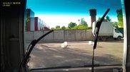 С видеорегистратор на автомивка в Русия