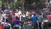Venezuela: Hundreds of unionists march on Venezuelan business union, deliver petition