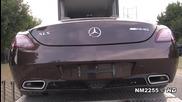Трябва да се види • 2012 Mercedes Sls Amg Roadster - В действие