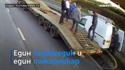 Мъж изпада в безсъзнание зад волана – шофьори го спасиха