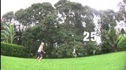 Куче прави страхотно комбо на волейбол със стопанката си