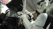 Star Wars dans le metro
