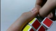 Смазване и затягане на рубик кубче