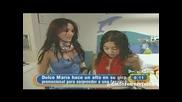 Dulce Maria sorprende fan en Miami Children s Hospital Da