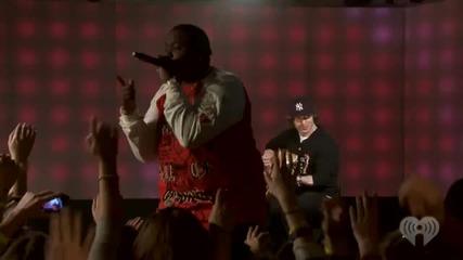 Justin Bieber Eenie Meenie feat. Sean Kingston Legaci live at z100