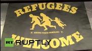 Германия: Дортмут приветства топло бежанците пристигащи от Мюнхен