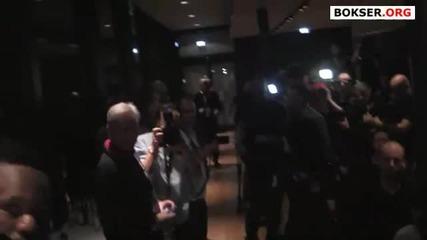Dereck Chisora Боя след боксовия мач със Кличко