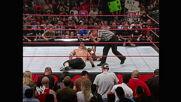John Cena & Rob Van Dam vs. Triple H, Shelton Benjamin & Chris Masters - WWE and Intercontinental Title Handicap Match: Raw, May