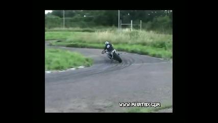 Driftbike Mekatrack, Motorcycle Drifting