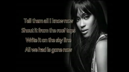 shontelle impossible + lyrics