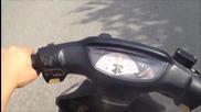 Honda Dio - Ускорение