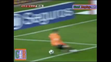 Atletico Madrid 2 - 3 Real Madrid 07.11.2009 Kun Aguero