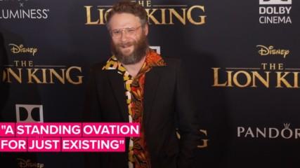 Seth Rogen tells how Beyoncé stole the spotlight in Lion King premiere