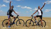 От Бургас до Бакаджика над Ямбол с колела - връх Свети Спас 2016г