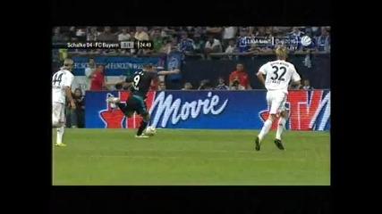 Шалке 04 - Байрен Мюнхен 1:1 Гол На Раул