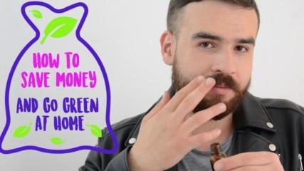 Saving money the green way with DIY beard oil