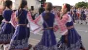 """""""на мегдана"""" в Дупница - Парк Рила Табиетфест, в изпълнение на танцов състав """"зора""""."""