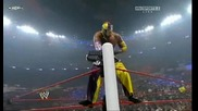 Wwe Fatal 4 Way World Heavyweight Championship Fatal 4 - Way Match part 2