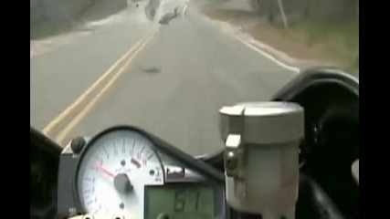 Motorcycle Wheelie Crash Fail
