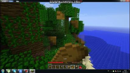 Minecraft-vbox7 survival ep 1