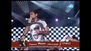 "Robbie Williams - ""love Supreme"" - Иван Радуловски - Ivan Radulovski - X Factor Bg 2013 - 24.10"