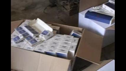 9000 кутии цигари без бандерол откриха столични антимафиоти