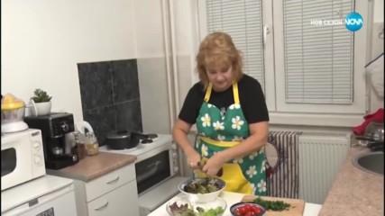 Френска вечеря с Лили Вучкова в Черешката на тортата (11.12.2018) - част 2