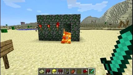 Minecraft-тотем на Herobrine -_-