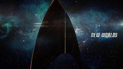 Новият сериал по Стар Трек излиза през Януари 2017-та. Ето го и Логото!