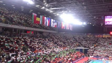 "Зала ""арена Армеец"", 13 000 души пеят ""мила Родино"" 11.10.2015"