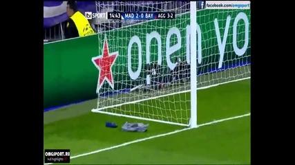 """Реал Мадрид 2-0 Байерн Мюнхен, Роналдо 14' Уефа Шампионска Лига 2012 """" Santiago Bernabeu """""""