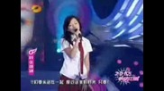 Jane Zhang - Loving You (Chinese Idol 2005)
