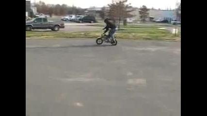 mini - bike stunts