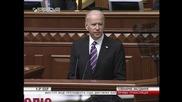 Ukraine: Biden calls on Rada to 'build a united, democratic' Ukraine