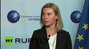 Belgium: Parrilla and Mogherini seek to strengthen EU-Cuban ties