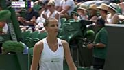 Wta 2018 Wimbledon Championships - 4th Round - Karolna Plkov vs Kiki Bertens