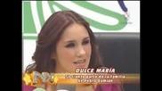 Dulce Maria habla de los rumores con Pedro y Anahi la defiende (nx).