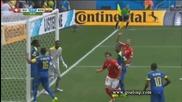Швейцария 2:1 Еквадор 15.06.2014