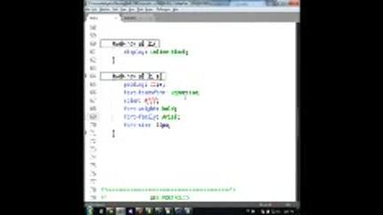 Изграждане на Web интерфейси - Първа Psd тема