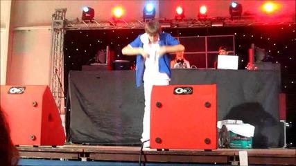 Танц от Хип-хоп батълите - On! Fest (4g)