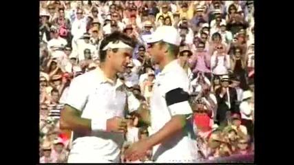 Федерер - Родик (финални точки - Уимбълдън 2009)