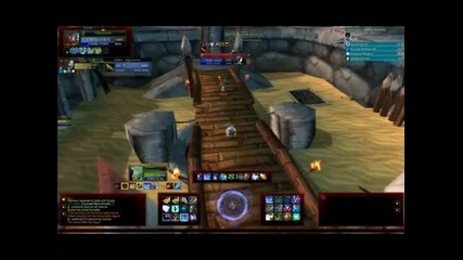 World of Warcraft Oblivinati mage pvp 10 level 80 (hd)