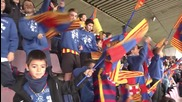 Spain: Messi, Neymar and Suarez dazzle at F.C. Barcelona open training session