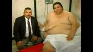 Най - Дебелия Човек На Света - 450 Килограма