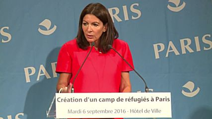 France: Paris Mayor announces plans to open first refugee camp