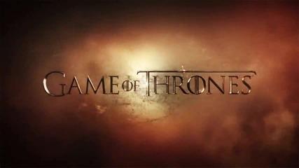 Игра на Тронове Сезон 5 - Трейлър / Game of Thrones Season 5 - Trailer + Субтитри